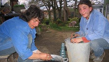 Nettoyage - Cuisson raku