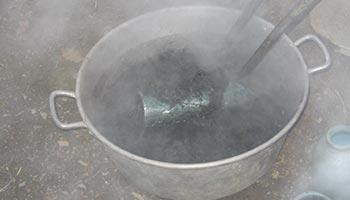 Refroidissement - Cuisson raku